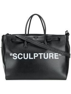 дорожная сумка Sculpture Off-White