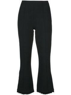 frill hem cropped trousers Cinq A Sept
