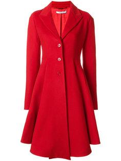 однобортное приталенное пальто Givenchy