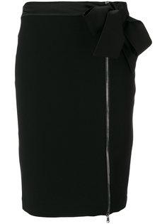 юбка на молнии с бантом  Moschino
