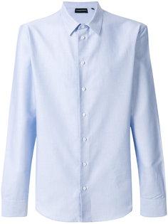 классическая рубашка с длинными рукавами Emporio Armani