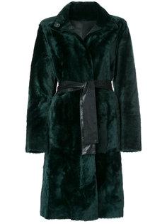 пальто с потайной застежкой на пуговицы  Drome