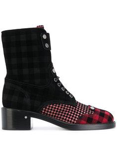 ботинки в клетку Laurence Dacade