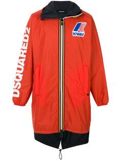 пальто на молнии Dsquared2