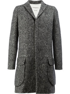 пальто с потайной застежкой Rochas