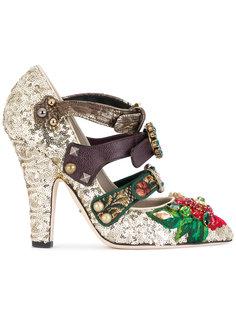 декорированные туфли с пайетками Dolce & Gabbana