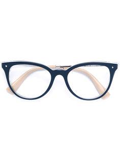 очки в оправе кошачий глаз Valentino Eyewear