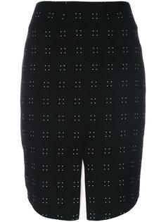 юбка с разрезом спереди  Emporio Armani