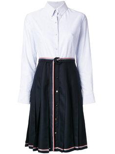 платье с контрастной отделкой  Thom Browne