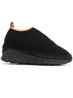 кроссовки без шнуровки Kenzo