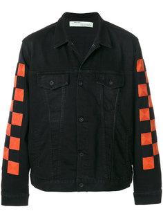джинсовая куртка в клетку Off-White