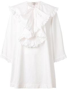 платье с оборкой  Isa Arfen
