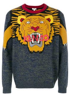 джемпер с принтом тигра Kenzo