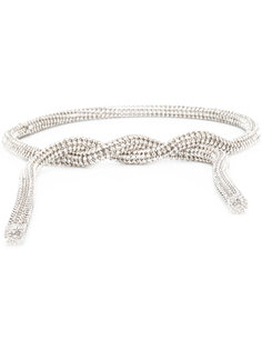 декорированный кристаллами ремень Calvin Klein