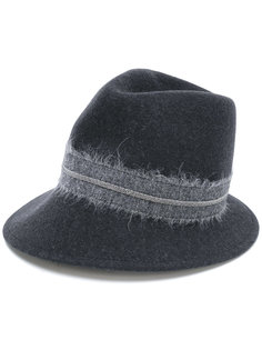 фетровая шляпа с цепочной отделкой Fabiana Filippi