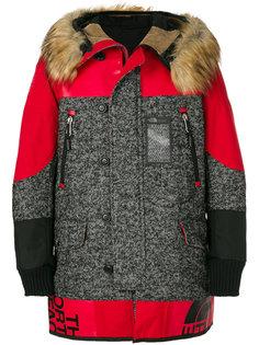 Junya Watanabe Comme des Garçons x The North Face fur trimmed hooded coat  Junya Watanabe Comme Des Garçons Man