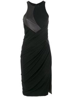 платье с вырезом-рейсер  Alexander Wang