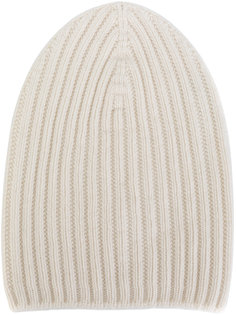 cashmere ribbed beanie Barrie