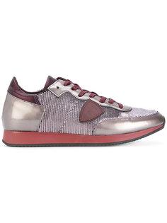 кроссовки с текстурированными панелями Philippe Model
