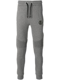 спортивные брюки с отделкой в рубчик Philipp Plein