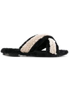 cross strap sandals  Avec Modération
