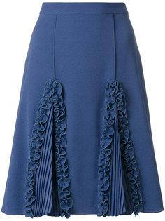 А-образная юбка с оборками  Marco De Vincenzo