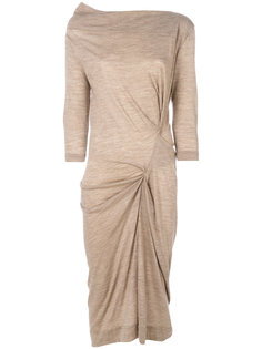 asymmetric ruched dress Vivienne Westwood Anglomania