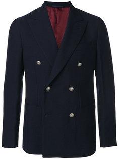 двубортный пиджак Caruso