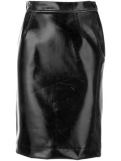 creased pencil skirt Vivienne Westwood Anglomania