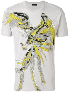 футболка с принтом орла Diesel Black Gold