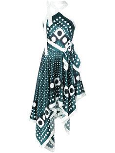 платье с резным подолом Monse