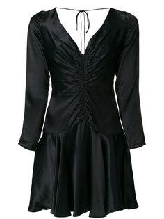 расклешенное платье с V-образным вырезом Zimmermann
