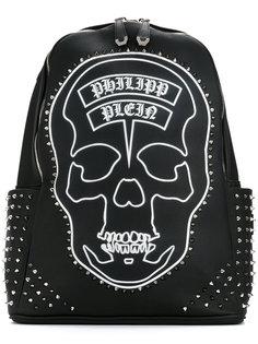 рюкзак с принтом черепа из заклепок Philipp Plein