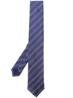 галстук в полоску Corneliani