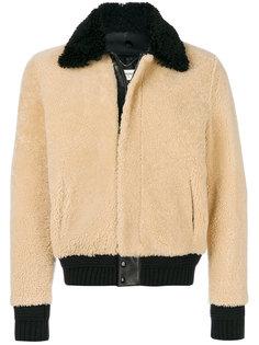 куртка с воротником Saint Laurent