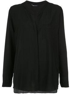 collarless shirt Uma | Raquel Davidowicz