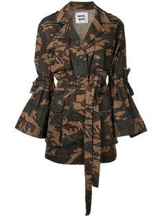 жакет-кимоно с расклешенными рукавами Muveil