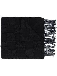 шарф в клетку Yohji Yamamoto
