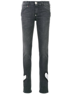 джинсы скинни Heart Philipp Plein
