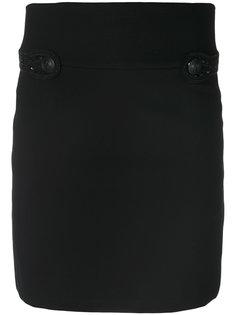 облегающая юбка мини Pierre Balmain