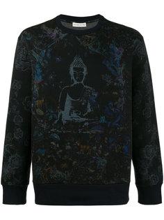 свитер с принтом Будды Etro