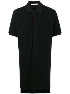рубашка-поло свободного кроя с планкой Velcro Givenchy