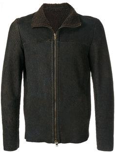 текстурированная куртка с эффектом потертости Salvatore Santoro