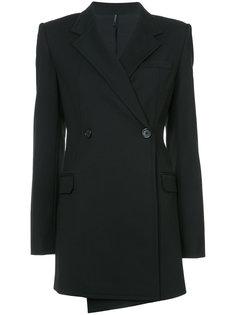 удлиненный пиджак Helmut Lang
