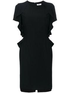 платье с оборками  Blugirl
