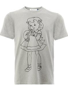 футболка с принтом девочки Undercover