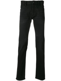 прямые джинсы Emporio Armani