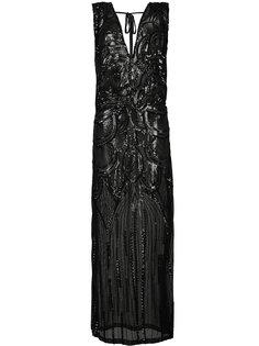 вечернее платье с пайетками Taylor