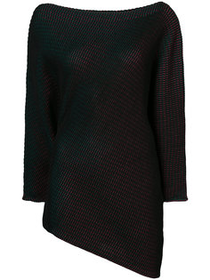 свитер с вырезом-лодочкой Issey Miyake
