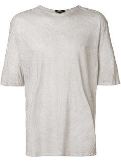 футболка свободного кроя Unconditional